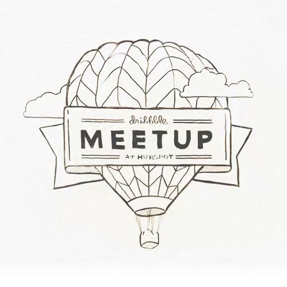 hubspot dribbble meetup